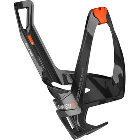 Elite Cannibal XC Flaskeholder glossy black/orange design